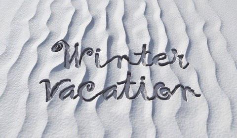 Its Winter Vacation Time At Biblical Life